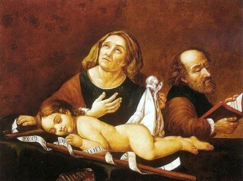 San Zacarias y Santa Isabel santo 5 noviembre