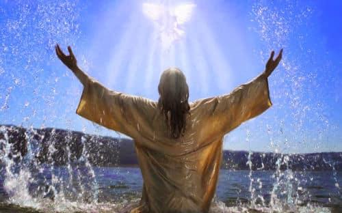 El espiritu santo y jesus